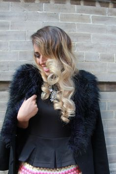 Hair styled by TONI&GUY Hoboken salon #NYFW | Camille of Glamgerous Blog - http://www.glamgerous.com/