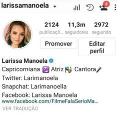 724e6fa0f1c8c 8 melhores imagens de Prints do instagram da Larissa Manoela ...