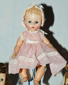 """Alexander-kins tagged """"Meg"""", """"Jo"""" and """"Little Genius"""" NO RESERVE in Dolls & Bears, Dolls, By Brand, Company, Character, Madame Alexander, Vintage (Pre-1973), 1948-59 