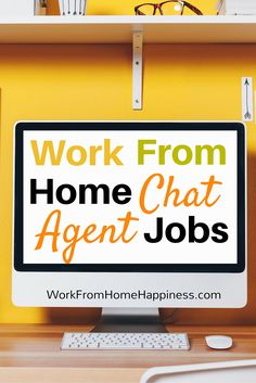 Put your customer service skills to use without ever having to pick up a phone as a work from home chat agent!