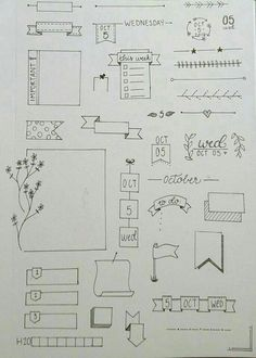 Simple Bullet Journal Ideas To Organize Your Ambitious Goals Well . - Simple Bullet Journal Ideas To Organize And Accelerate Your Ambitious Goals Well – - Bullet Journal Simple, Bullet Journal Headers, Bullet Journal Banner, Bullet Journal Aesthetic, Bullet Journal Notebook, Bullet Journal 2019, Bullet Journal Ideas Pages, Bullet Journal Inspiration, Journal Pages