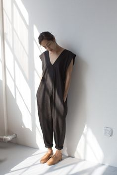 Electric Feathers Origami Jumpsuit | Oroboro Store