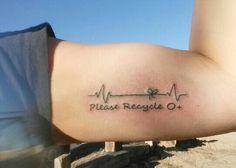 Organ donation tattoo