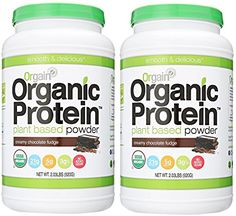 Orgain Organic Plant Based Protein Powder, 3 Flavors, Various Sizes