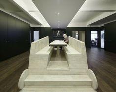 Geschäftsführung Kabinett-moderner Konferenztisch