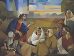 The Lord of the Parables – Jorge Cocco Santángelo Pictures Of Jesus Christ, Bible Pictures, Where Is Jesus, Parables Of Jesus, The Lost Sheep, Plan Of Salvation, Temple Pictures, Jesus Art, The Good Shepherd