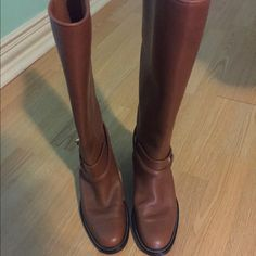 Balenciaga Brown Riding Boots These are the Balenciaga wrap Riding boot, in Brown. Size 6. Worn only 3 or 4 times- looking to get rid of them. Great for Christmas and winter outfits! Box will be included. 1000% authentic purchased at Niemen Marcus in Houston. Balenciaga Shoes Winter & Rain Boots