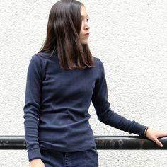 画像3: ファインクォーターチェックプロテクトボッシュタートルネックカットソー [Lady's]【MADE IN JAPAN】『日本製』/ Upscape Audience
