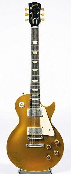 1958 Gibson Les Paul goldtop.