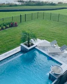 Luxury Pool and Lake Living in Winter Garden, FL. This is pool landscape Luxury Pool and Lake Living in Winter Garden,FL Swimming Pool Landscaping, Natural Swimming Pools, Landscaping Design, Southern Landscaping, Hedges Landscaping, Landscaping Tools, Florida Landscaping, Small Backyard Patio, Backyard Pool Designs