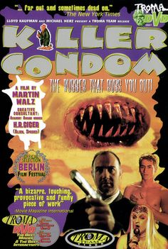 Killer Condom (1996) | 19 Awful(ly Funny) Horror Movie Titles