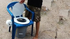 Homemade Camping Toilet Comfort (video