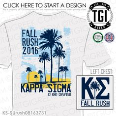 TGI Greek - Kappa Sigma - Greek Apparel - #KappaSigma #Rush