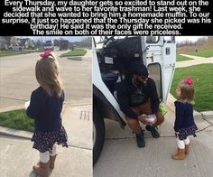 Faith In Humanity Restored – 14 Pics - Daily Lol Pics Happy Stories, Sweet Stories, Cute Stories, Beautiful Stories, Funny Quotes, Funny Memes, Jokes, Truck Quotes, Leadership