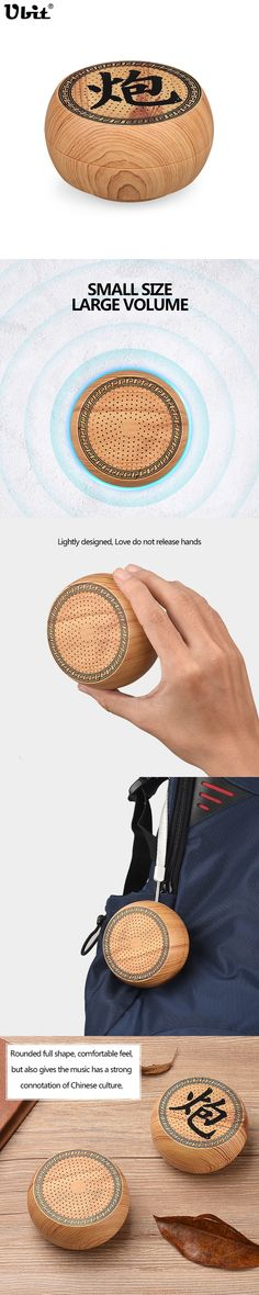 Ubit Portable Bluetooth Wireless Speaker With Hands-free Call TF Card MP3 Music Player Chinese Chess Mini Speaker For Smartphone