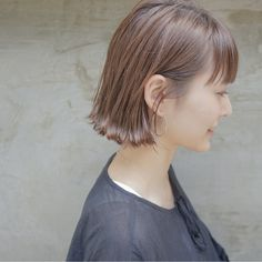 Pin on hair Short Hairstyles For Women, Bob Hairstyles, Short Hair Cuts, Short Hair Styles, Hair Arrange, Dyed Hair, Hair Pins, Hair Color, Hair Beauty