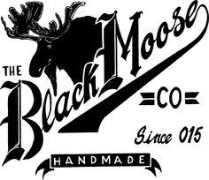 The Black Moose Company Moose, Handmade, Black, Hand Made, Black People, Mousse, Elk, Handarbeit