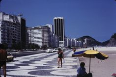 Rio, Copacabana,  Dia_298-00529 New York Skyline, Travel, Rio De Janeiro, Viajes, Trips, Traveling, Tourism, Vacations