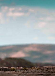 mountain blur background surface