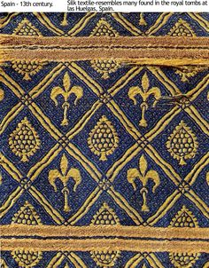 moorish period design | Textiles in the Early Medieval Period: 5th- 10th centuries