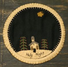 Holy Night Candle Mat