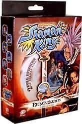 Shaman King Reincarnation Two-Player Starter Deck w/Bonus DVD First Edition by Decipher