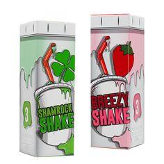 Milkshake Liquids Sampler Pack 30ml | Vapory shop #eliquid #vapejuice #ejuice…