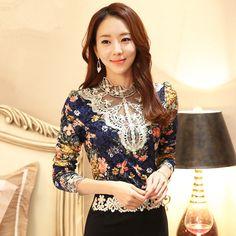 57826fda0 21.16 |Aliexpress.com: Comprar , además de terciopelo grueso que basa la  camisa 2015 otoño e invierno ropa nueva versión coreana afluencia de gran  tamaño ...