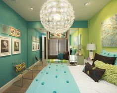Kids Teen Girls' Rooms Blue Design, Pictures, Remodel, Decor and Ideas - page 13