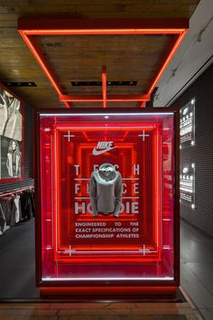 SHOPLIFTER Nike flagship store by Nike WeShouldDoItAll New York City #Inspiration #Pointofsale #Marketing