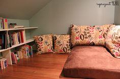 Reading Corner Floor Couch