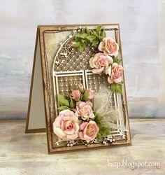 Klaudia/Kszp: Kurs na dzikie róże:  DIY WILD ROSES tutorial!  Easy as pie!