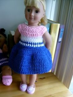 Free Crochet SUNNY's SUMMER FROCK Pattern: http://www.crochetville.org/forum/showpost.php?p=705913&postcount;=1