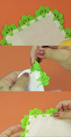 Crochet Edging Patterns, Crochet Stitches, Borboleta Crochet, Crochet Lace, Crochet Necklace, Decoration, Embroidery, Handmade, Design