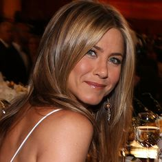 I always love Jennifer Aniston's hair! This color is pretty.