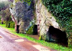 Etruscan Caves of Sutri, Italy