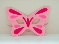 READY TO SHIP Butterfly Mask Felt Mask by pixieandpenelope on Etsy