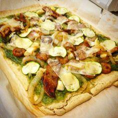 Plantain crust pizza! I did it!