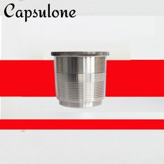 Capsulone/Compatible with illy coffee Machine maker/STAINLESS STEEL Metal Refillable Reusable capsule  fit for illy cafe capsule