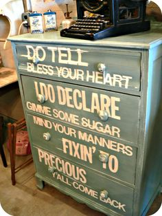 dresser-makeover-with-words