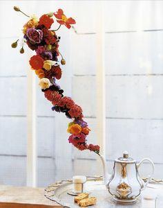 Mad Hatters Tea Party flower arrangement.