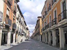 Calle Mayor en Alcalá de Henares (Madrid)