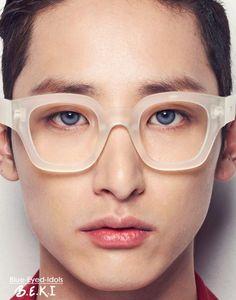 Lee Soo Hyuk Blue Eyes |