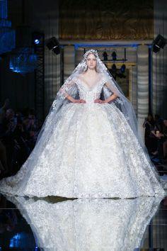 WedLuxe– Couture Spring-Summer 2016: Zuhair Murad |  Follow @WedLuxe for more wedding inspiration!