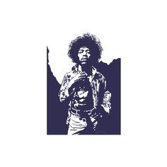 Jimi Hendrix - Purple Haze Giclee Print Wall Art (57 BAM) ❤ liked on Polyvore featuring home, home decor, wall art, purple home decor, purple wall art, giclee wall art, purple home accessories and jimi hendrix wall art