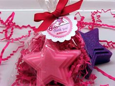 Set of 10 Princess Star Soap Party Favors by SweetbodySoaps, $25.00