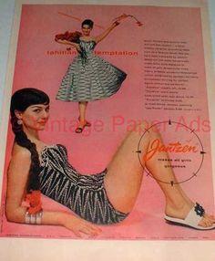 Vintage Jantzen Swim Wear Ad