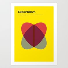 Existentialism Art Print by Genis Carreras - $17.00