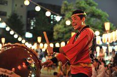 Tokyobling's Blog Bonodori Festival at Tsukiji Honganji