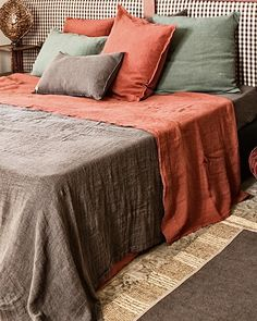 Comforters, Ottoman, Blanket, Interior Design, Chair, Bed, Furniture, Home Decor, Creature Comforts